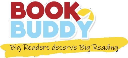 bookbuddy with slogan